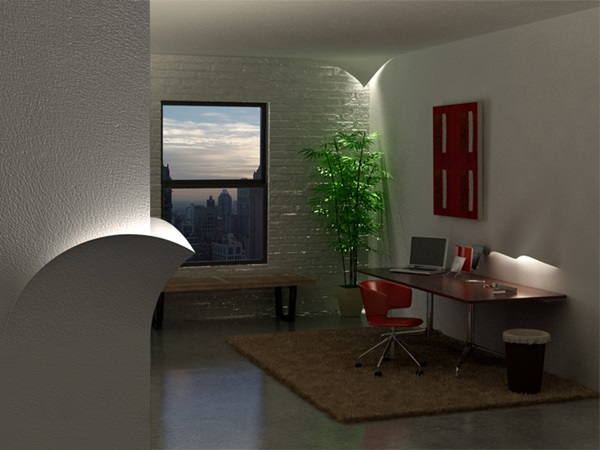 Creative and Cheap Indoor Wall Lamps Ideas