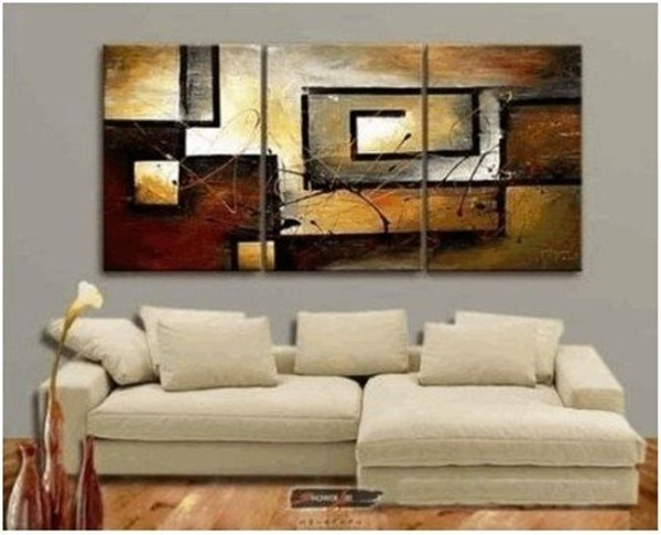 25 Easy Three Piece Painting Ideas 22