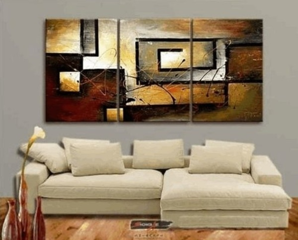 25 Easy Three Piece Painting Ideas 24