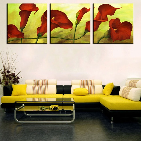 25 Easy Three Piece Painting Ideas 5