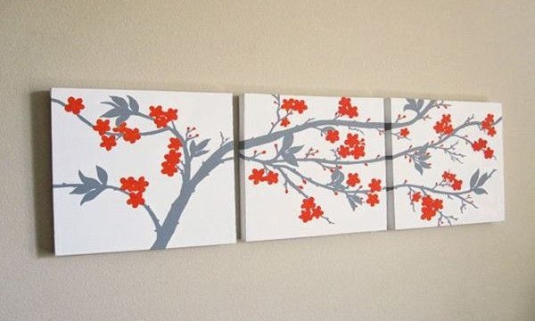 25 Easy Three Piece Painting Ideas Feature Image