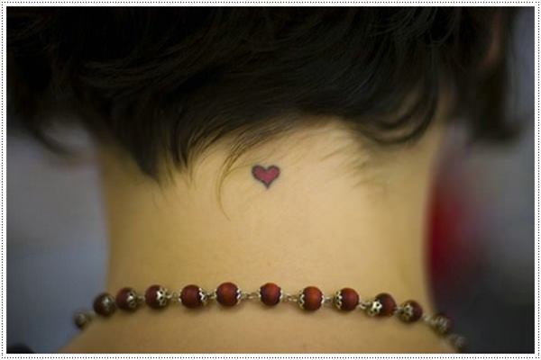 35 Cute and Small Heart Tattoo Designs Feature Image