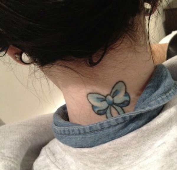 35 Most Attractive Ideas about Back Neck Tattoos for Woman 10