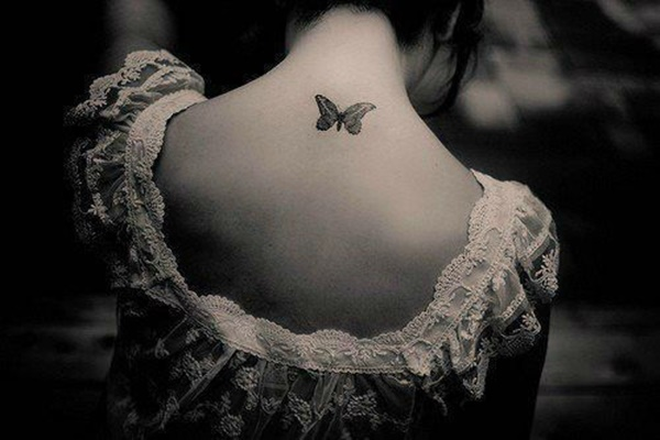 35 Most Attractive Ideas about Back Neck Tattoos for Woman 13