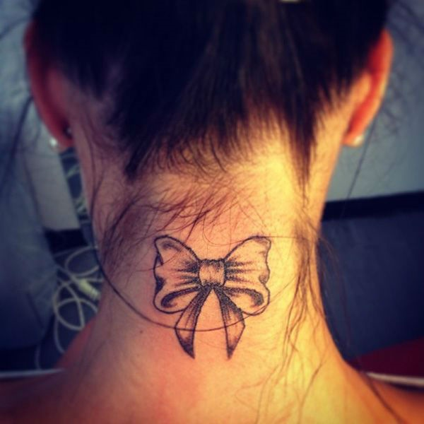 35 Most Attractive Ideas about Back Neck Tattoos for Woman 5