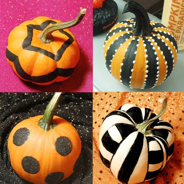 Ways To Paint A Pumpkin: 40 Cute And Easy Pumpkin Painting Ideas