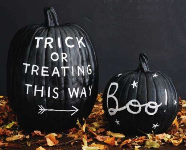 40 Cute and Easy Pumpkin Painting Ideas 13