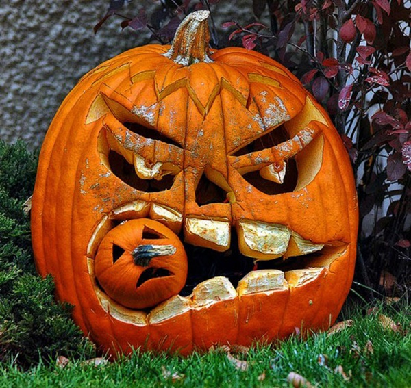 40 Cute and Easy Pumpkin Painting Ideas 19