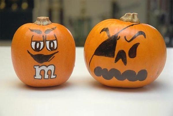 40 Cute and Easy Pumpkin Painting Ideas 2