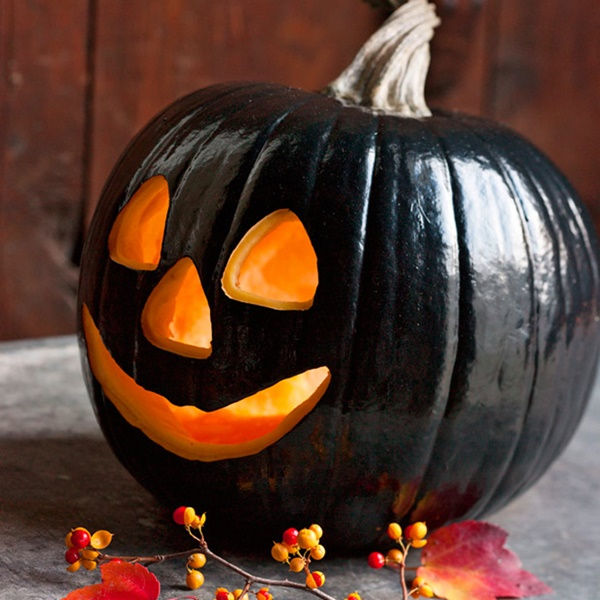 40 Cute and Easy Pumpkin Painting Ideas 20