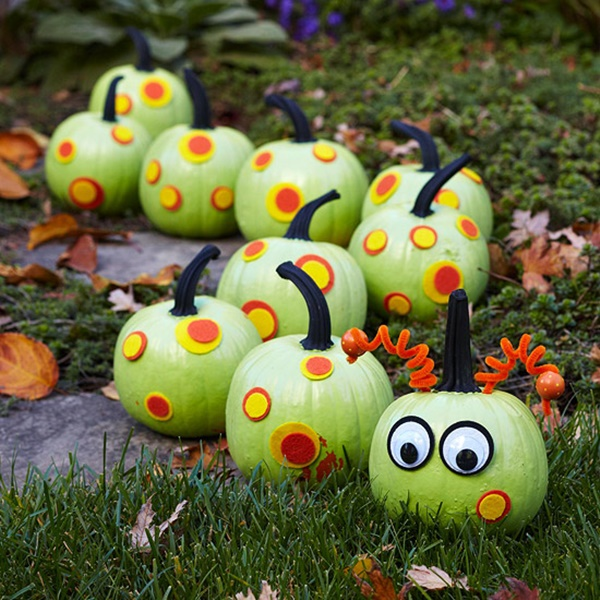 40 Cute and Easy Pumpkin Painting Ideas 23