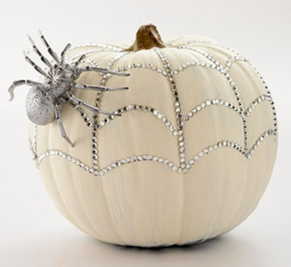 40 Cute and Easy Pumpkin Painting Ideas 24