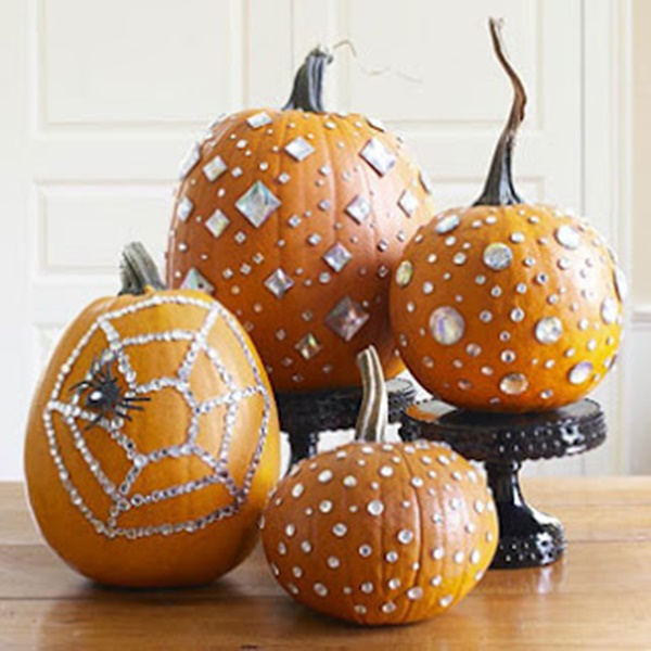 40 Cute and Easy Pumpkin Painting Ideas 25