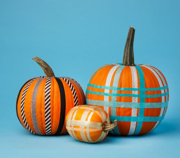 40 Cute and Easy Pumpkin Painting Ideas 26