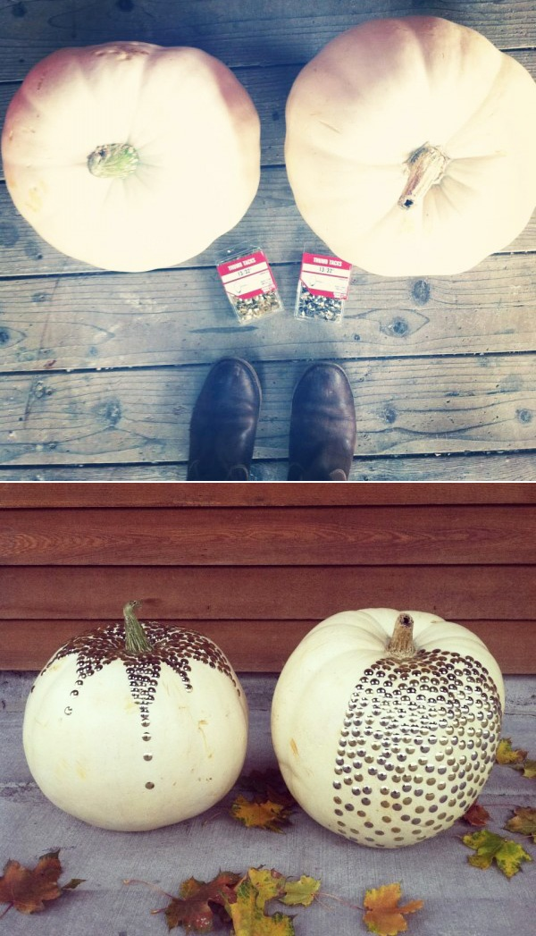40 Cute and Easy Pumpkin Painting Ideas 27