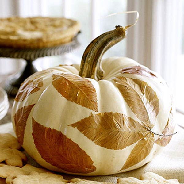 40 Cute and Easy Pumpkin Painting Ideas 36