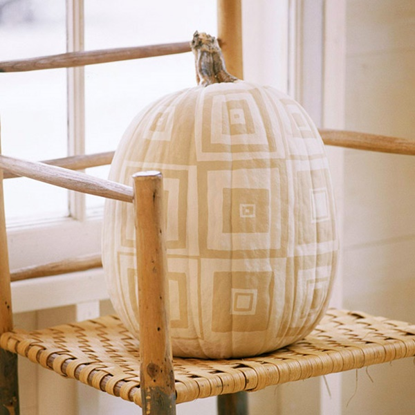 40 Cute and Easy Pumpkin Painting Ideas 41