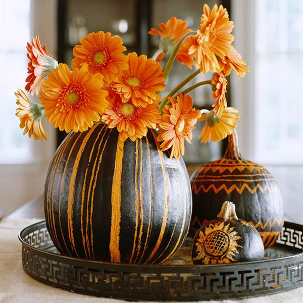 40 Cute and Easy Pumpkin Painting Ideas 42