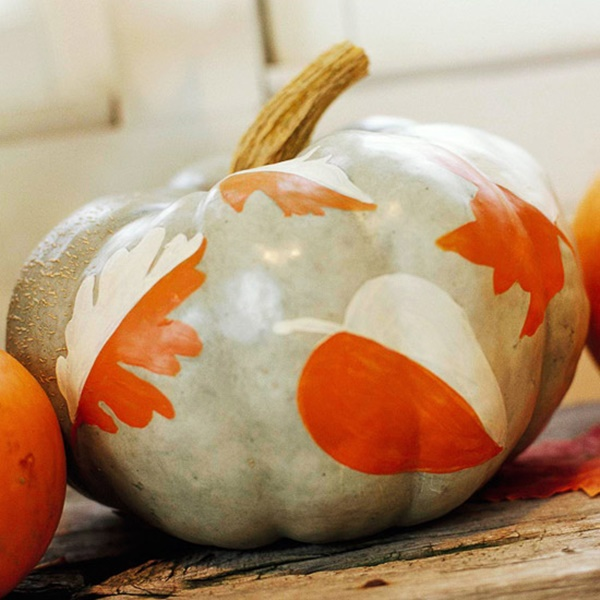40 Cute and Easy Pumpkin Painting Ideas 43
