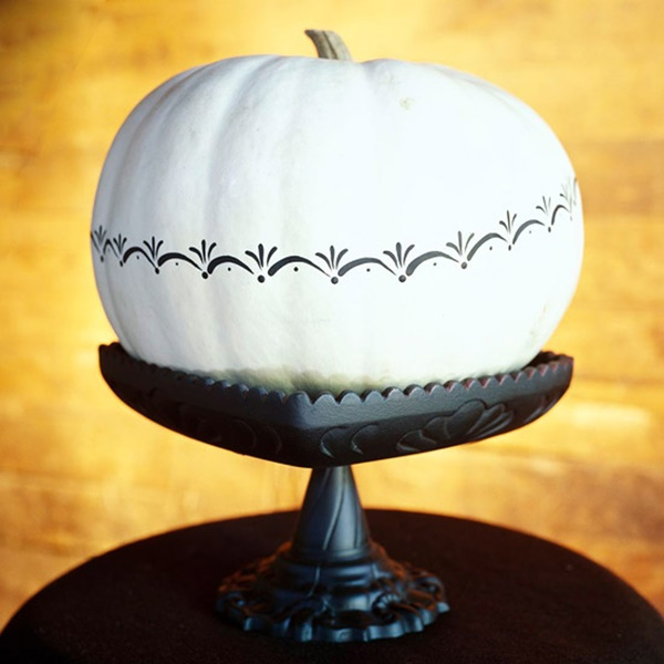 40 Cute and Easy Pumpkin Painting Ideas 44