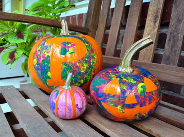 40 Cute and Easy Pumpkin Painting Ideas 5