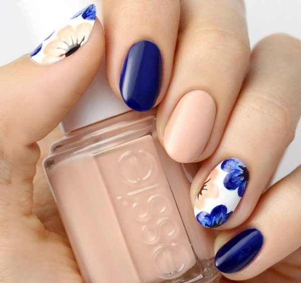 40 Easy and Attractive Fall Nail Art Ideas 2