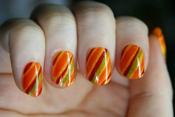 40 Easy and Attractive Fall Nail Art Ideas Feature Image