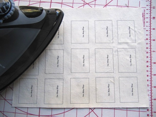 How to Make Fabric Labels at Home 5