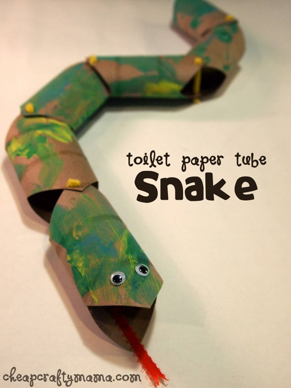 30 Creative Ideas for Toilet Paper Roll Crafts 27