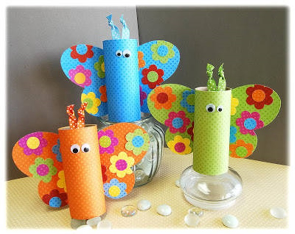 30 Creative Ideas for Toilet Paper Roll Crafts 7