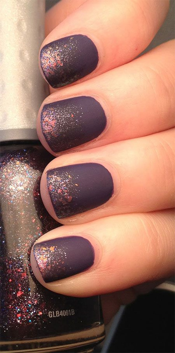 40 Easy and Attractive Fall Nail Art Ideas 15