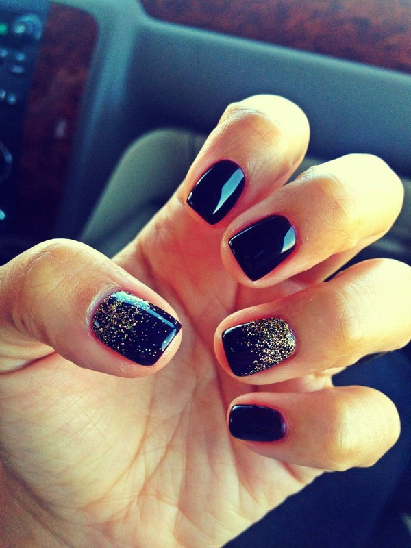 40 Easy and Attractive Fall Nail Art Ideas 16