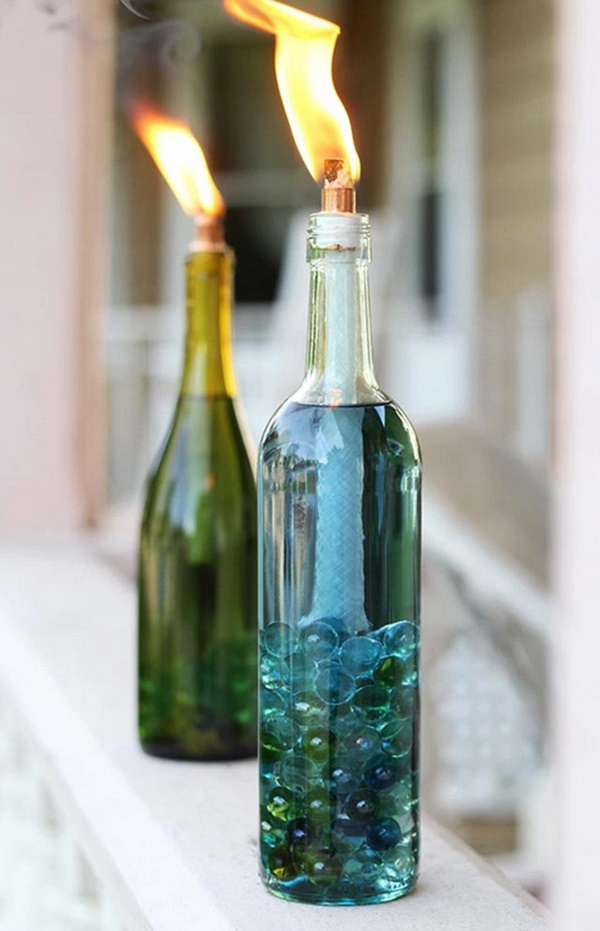 40 wine bottle decoration ideas hobby lesson