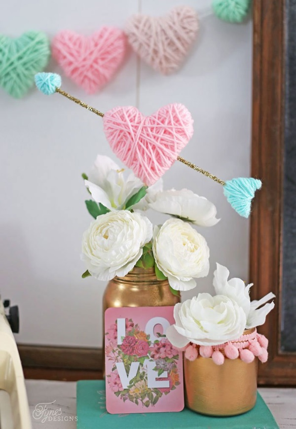 15-valentines-day-craft-ideas-with-yarn-9