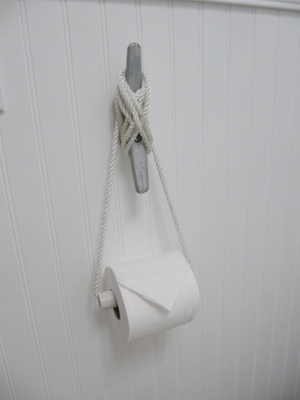 amazing ideas of DIY toilet paper holder 10