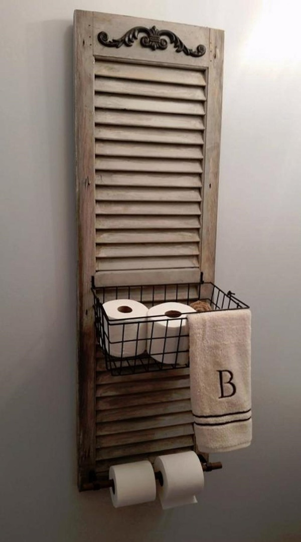 amazing ideas of DIY toilet paper holder 14b
