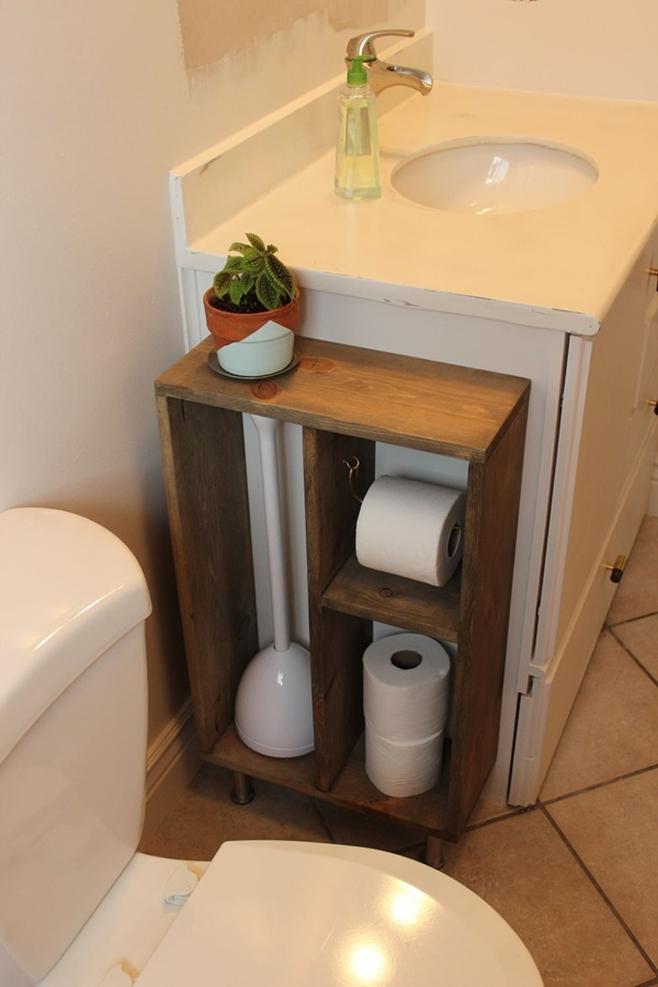 amazing ideas of DIY toilet paper holder 20c