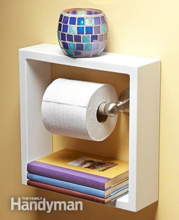 amazing ideas of DIY toilet paper holder 21c