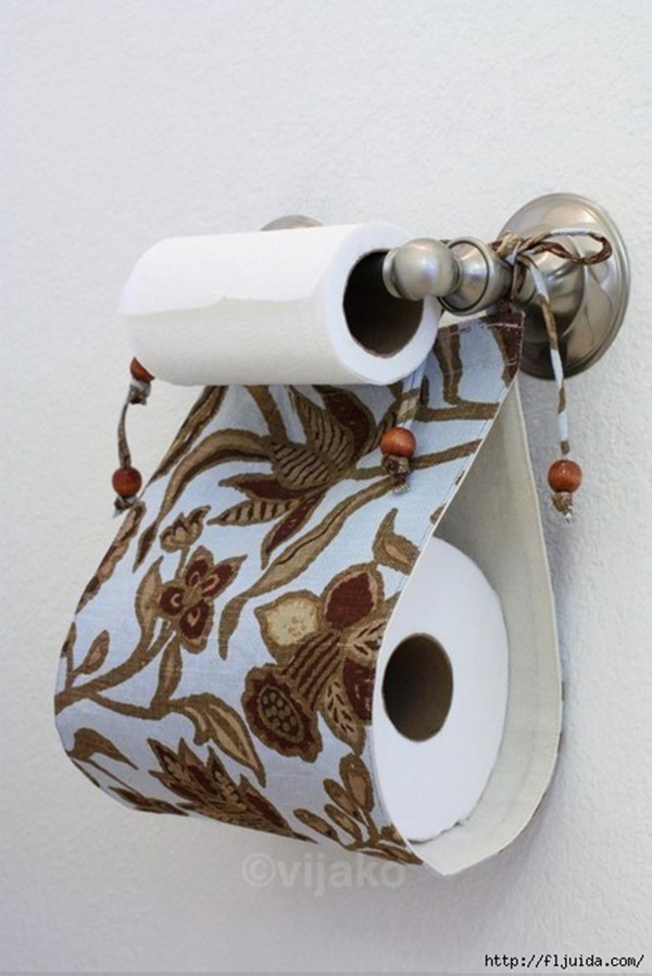 30 unique examples of diy toilet paper holder Creative toilet paper holder