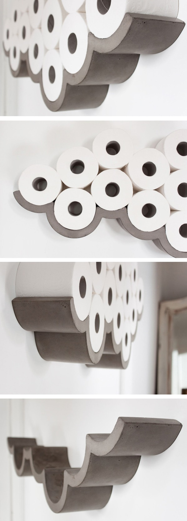 amazing ideas of DIY toilet paper holder 4