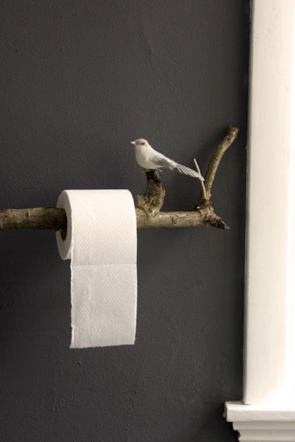 amazing ideas of DIY toilet paper holder 8