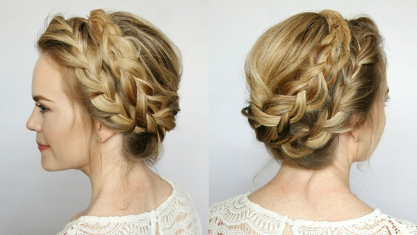 easy braids ideas you can do it by yourself 2