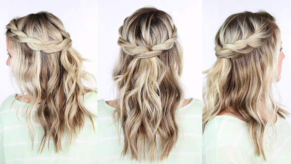 easy braids ideas you can do it by yourself 4