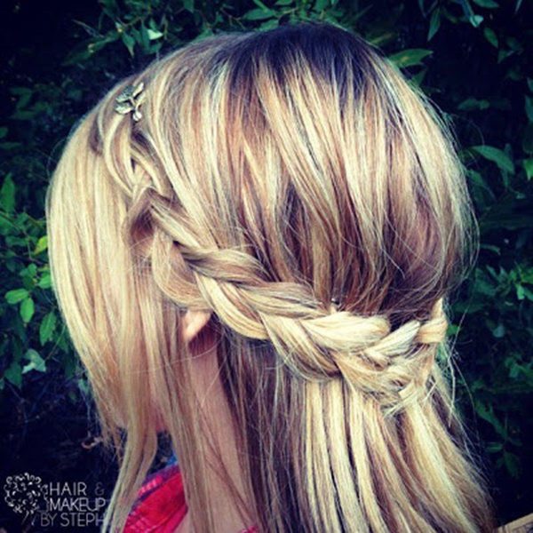 easy braids ideas you can do it by yourself 5