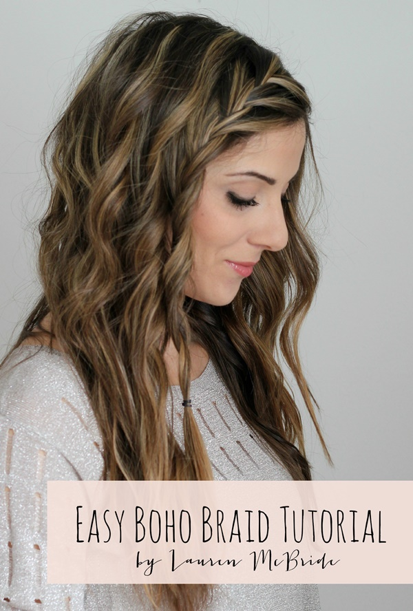 easy braids ideas you can do it by yourself 6
