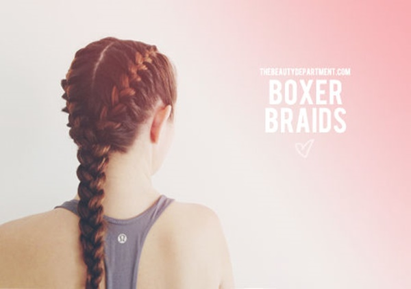 easy braids ideas you can do it by yourself 9