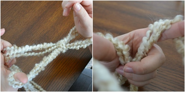 how to arm knit a blanket within an hour 2