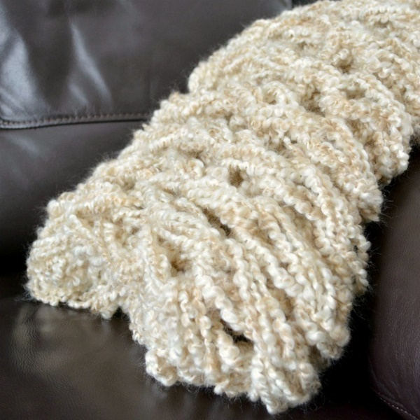 how to arm knit a blanket within an hour 7