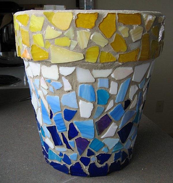 Broken Glass Reusing Ideas 1