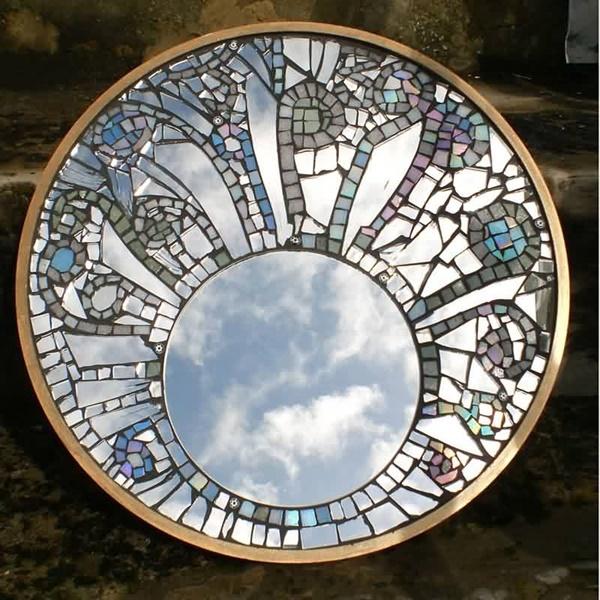Broken Glass Reusing Ideas 6